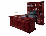 Keswick Right Executive U Desk - English Cherry [7990-37-FS-DMI]