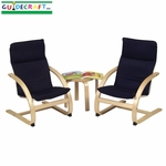 Kiddie Rocker Chair Set [G6406-FS-GUI]
