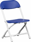 Kids Blue Plastic Folding Chair [Y-KID-BL-GG]