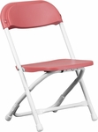 Kids Burgundy Plastic Folding Chair [Y-KID-BY-GG]