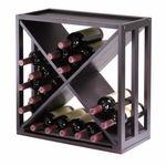 Kingston 'X' Wine Rack [92104-FS-WWT]