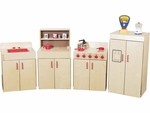 Kitchen Play Set - 20''W x 15''D x 36''H [ECKTCHN-VCO]