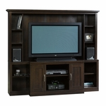 Select Collection 71.5''W Home Theater with Adjustable Shelves - Cinnamon Cherry [403932-FS-SRTA]