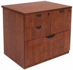 Legacy 29''H 4 Drawer Locking Wooden Lateral File Cabinet - Cherry [LPCL3124CH-FS-REG]