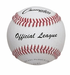 Leather Baseball - Rubber/Cork Blend Core - Set of 12 [OLB5-FS-CHS]