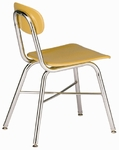Legacy Series 17.5'' X-Brace Cafeteria Chair [557-CSC]
