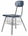 Legacy Series 15.5'' H-Frame Chair with Bookbasket [535-CSC]