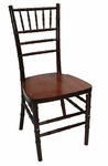 Legacy Series 36.125''H Wood Chiavari Ballroom Stack Chair - Fruitwood Finish [122008-MES]