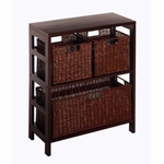 Leo 4-Pc Storage Shelf and Baskets [92649-FS-WWT]