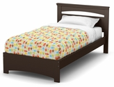 Libra Collection Twin Bed Set (39'') Chocolate