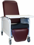 Lifecare Recliner with Saddle Seat - 3 Positions [585S-FS-WIN]