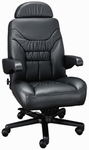 Limited High Back Office Chair with Dual Lumbar Support - Fabric [OF-LMTD1PC-F-FS-ARE]