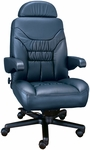 Limited High Back Office Chair with Lumbar Support - Leather [OF-LMTD1PC-L-FS-ARE]