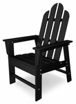 POLYWOOD® Long Island Dining Chair - Black [ECD16BL-FS-PD]
