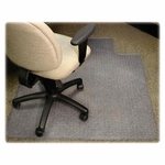 Lorell Medium Pile Antistatic Standard Chairmat with Lip [LLR25750-FS-SP]