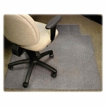 Lorell Medium Pile Antistatic Wide Chairmat with Lip - 60''L X 46''W [LLR25752-FS-SP]