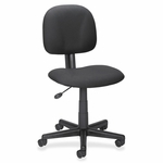 Lorell Multi -Task Chair - Adjustable - 23''W x 24 -3/4''L x 37''H - Black [LLR84863-FS-SP]
