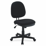 Lorell Task Chair - 24''W x 14''L x 25''H - Black [LLR84870-FS-SP]