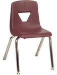 2000 Series Stack Chair with 14''H Seat - 13.63''W x 16.5''D x 23.62''H [2014-VCO]