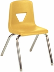 2000 Series Stack Chair with 16''H Seat - 16.88''W x 20''D x 27''H [2016-VCO]