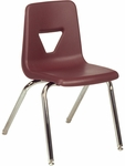 2000 Series Stack Chair with 18''H Seat - 18.75''W x 20''D x 30''H [2018-VCO]