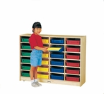 24 Paper-Tray Cubbie Storage Unit [0625JC-JON]