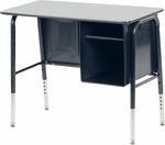765 Series Jr. Executive Desk with Laminate Top - 34''W x 20''D x 22''H - 30''H [765MBB-VCO]