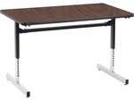 8700 Series Computer Laminate Table - 30''W x 48''D x 22''H - 30''H [873048-VCO]