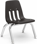 9000 Classic Series Stack Chair with 10''H Polypropylene Seat - 14.63''W x 15''D x 18.38''H [9010-VCO]