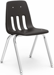 9000 Classic Series Stack Chair with 18''H Polypropylene Seat - 18.75''W x 21.5''D x 30.63''H [9018-VCO]