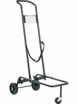 Stack Chair Cart with 3 Wheels - 21''W x 39.88''D x 60.75''H [HCT789-VCO]