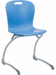 Sage Series Cantilever Chair with 18.25''H Polypropylene Seat - 20''W x 21''D x 34''H [SGCANT18-VCO]