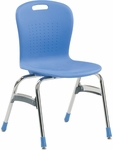 Sage Series Stack Chair with 18''H Seat - 20.38''W x 32.5''H [SG418-VCO]