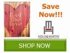 Save up to 30% off select Holly & Martin by