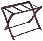 Luggage Rack in Dark Espresso [92420-FS-WWT]
