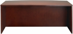 Luminary 72'' W x 42'' D x 29'' H Bow Front Desk - Cherry [DK3672C-FS-MAY]