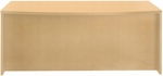 Luminary 72'' W x 42'' D x 29'' H Bow Front Desk - Maple [DK3672M-FS-MAY]