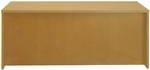 Luminary 72'' W x 36'' D x 29'' H Straight Front Desk - Maple [DKS3672M-FS-MAY]