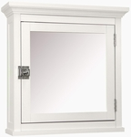 Madison Medicine Cabinet in White [7039-FS-EHF]