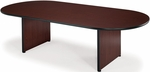 36'' D x 72'' W Racetrack Conference Table - Mahogany [T3672RT-MHGY-FS-MFO]