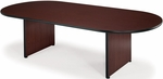 48'' D x 96'' W Racetrack Conference Table - Mahogany [T4896RT-MHGY-FS-MFO]