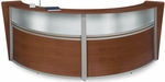 Marque Plexi Double Reception Station - Cherry [55312-CHY-FS-MFO]