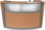 Marque Plexi Single Reception Station - Maple [55310-MPL-FS-MFO]