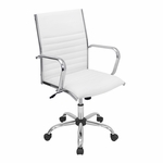 Master Office Chair White [OFC-AC-MSTR-W-FS-LUMI]
