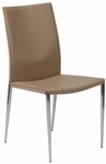 Max Side Chair in Tan - Set of 2 [17224TAN-FS-ERS]