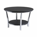 Maya Coffee Table in Black [93230-FS-WWT]