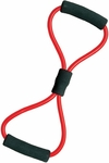 Medium Resistance Muscle Toner Loops in Red [AT3-FS-CHS]