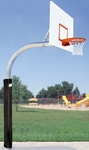 5.56'' Mega Duty Steel Rectangle Playground Basketball System [PR77-BIS]