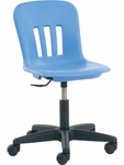 Metaphor Series Junior Task Chair with Adjustable Seat Height - 21.25''W x 21.25''D x 23.88''H - 28.13''H [N9TASK16-VCO]