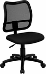 Mid-Back Black Mesh Swivel Task Chair [WL-A277-BK-GG]